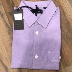 Men's Large purple dress shirt